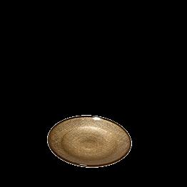 Assiette à pain Strass or Ø 14 cm