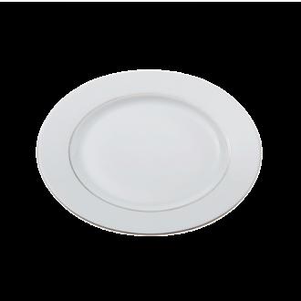 Assiette plate Ø 27cm Silver