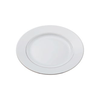 Assiette plate Ø 24cm Silver