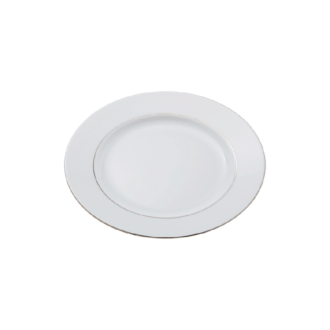 Plat bord Ø 21cm Silver