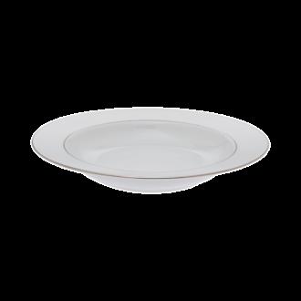 Diep bord Ø 22,5cm Silver