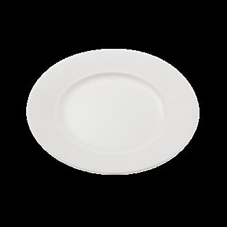 Assiette plate Ø 28 cm Ginseng