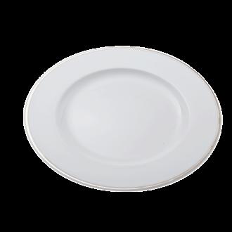 Plat bordØ 30cm  Silver