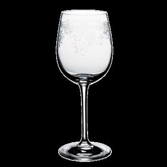 Geciseleerd rode wijnglas Trianon 24 cl