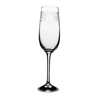 Geciseleerd champagneglas Trianon15 cl