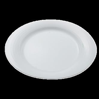 Assiette ovale 31 x 27 cm Duo