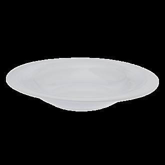 Assiette ovale creuse 23 x 21 cm Duo