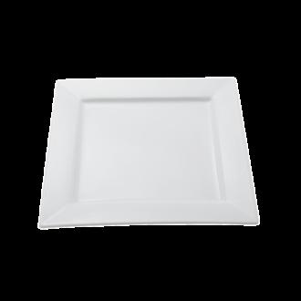 Assiette carrée 26 x 26 cm Napoli