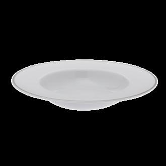 Assiette Chapeau Silver Ø 24,5 cm intérieur 15 cm