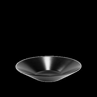 Assiette creuse Onyx Ø 23 cm bassin Ø 10 cm
