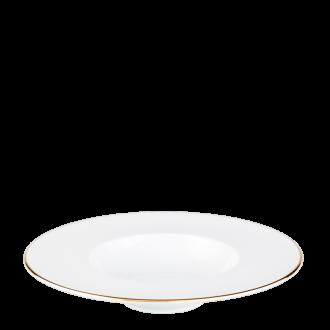 Diep bord Plane gouden rand Ø 27 cm int. Ø 15 cm