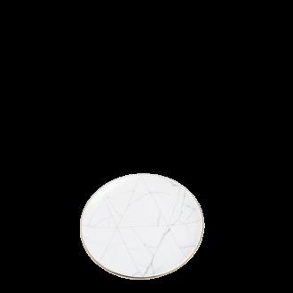 Assiette à pain Marbre Filet Or Ø 16 cm