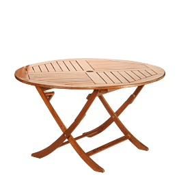 Table ronde Louisiane Ø 130 cm H 76 cm