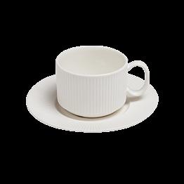 Tasse et sous-tasse  à café 18cl Ginseng