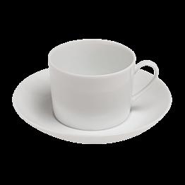 Tasse et sous-tasse à café 14cl Paris