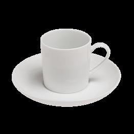 Tasse et sous-tasse à moka 8cl Paris