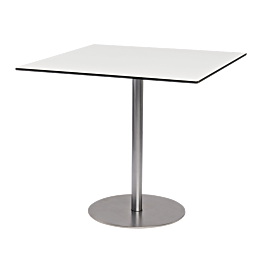 Table Brio blanche 75 x 75 cm