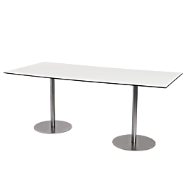 Table Brio blanche 180 x 75 cm