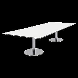 witte lage tafel Brio 180 x 75  x H 40 cm