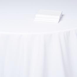 Nappe blanche 350 x 350 cm