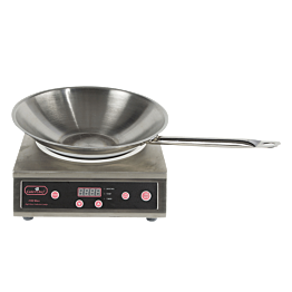 Wok à induction 220 V - 3100 W & poêle Ø 36 cm