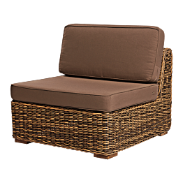 Fauteuil central Beach7 87 x 87 x H 69 cm