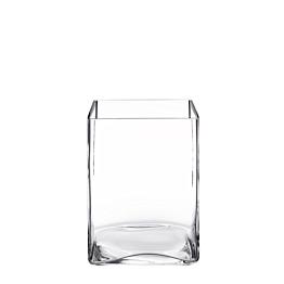 Vase carré 14 x14 cm H 20 cm