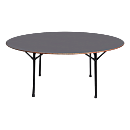 Table ronde Ø 180cm - 10 à 12 places