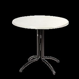 Table ronde Ø 85 cm H 75 cm - 2 à 4 places