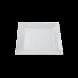 Assiette carrée 21 x 21 cm
