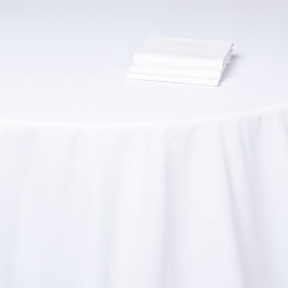 Nappe blanche 300 x 300 cm