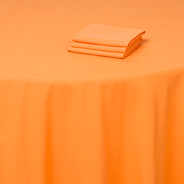 Nappe orange 300 x 300 cm