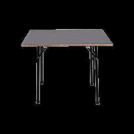 Table carrée 100 x 100 cm - 4 à 6 pers