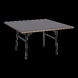 Table carrée 135x135cm - 6 à 8 places