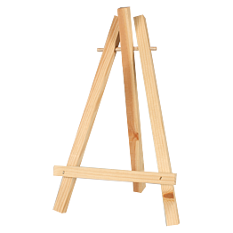 Schildersezel voor tafel H30cm