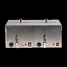 Dubbele hot dogmachine 220 V - 1300 W