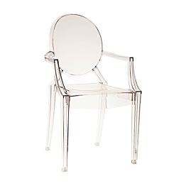 Chaise Louis Ghost transparente by Philippe Starck - Kartell