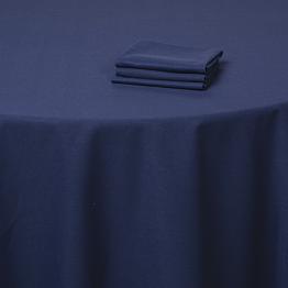 Nappe bleu marine 300 x 300 cm