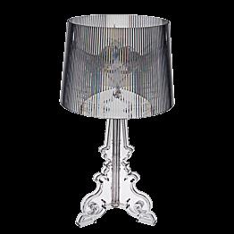 Doorzichtige Bourgie lamp 68 x 37 x H 37 cm