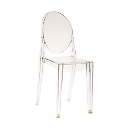 Chaise Victoria Ghost transparente