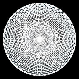 Assiette en verre Rumba Ø 32 cm
