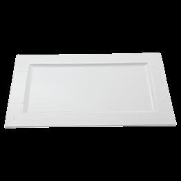 Assiette rectangulaire Faro 35x22cm *