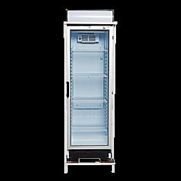 Koelkast met glazendeur 340 L (afhaalbaar frame)