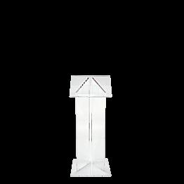 Spreekgestoelte plexi B 50 L 40 H 120 cm