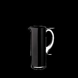 Zwarte glazen kruik 150 cl