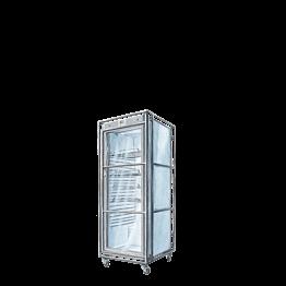 Koelkast met glazen deur 400 l - 230 V