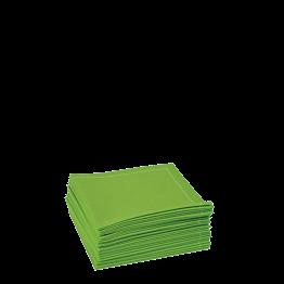 Serviettes tissu anis 2 plis 20 x 20 cm (par 30)