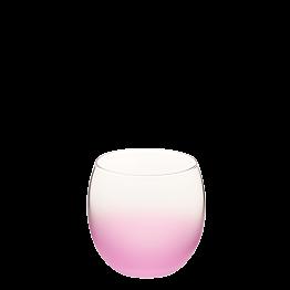 Bubble givré rose Ø 6.5 cm H 6.5 cm 15 cl