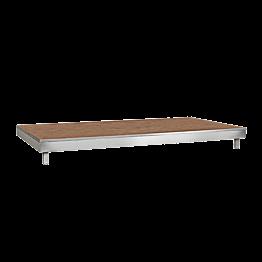 Podiumstuk 2x1m H 20 cm