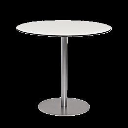 Table Brio blanche Ø 75 cm
